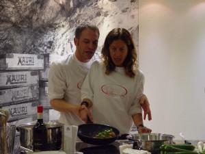 Simone Rugiati e Nicoletta Merlo