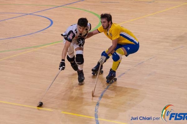 Nella foto di Juri Chiari, due talenti delle nazionali giovanili Davide Gavioli (Viareggio) e Marco Ardit (Thiene)