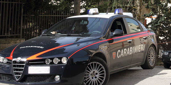 Carabinieri lodi