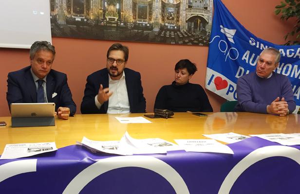Tonelli, Guidesi, Casanova e il segretario di Lodi del SAP, Francesco Menunni