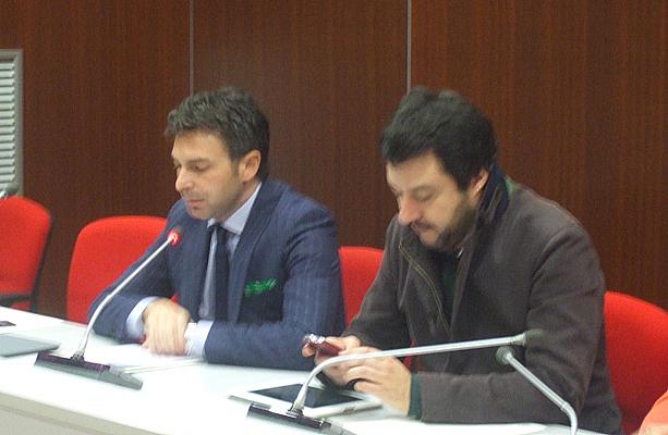 Pietro Foroni con Matteo Salvini