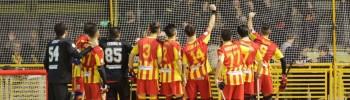 L'Amatori festeggia il successo nel derby lombardo (foto Mirabile)