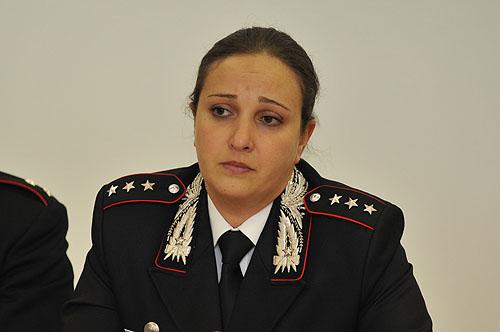 Il capitano Valeria Nestola