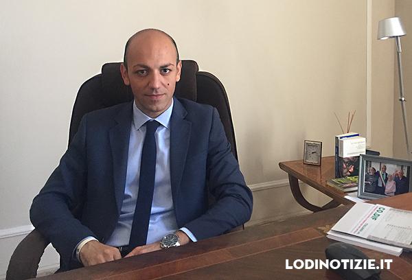 Il sindaco di Codogno, Francesco Passerini