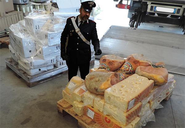 Refeurtiva formaggio carabinieri