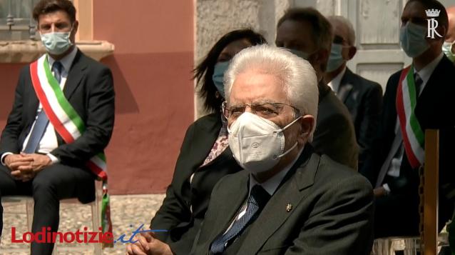 (VIDEO) La visita di Mattarella a Codogno