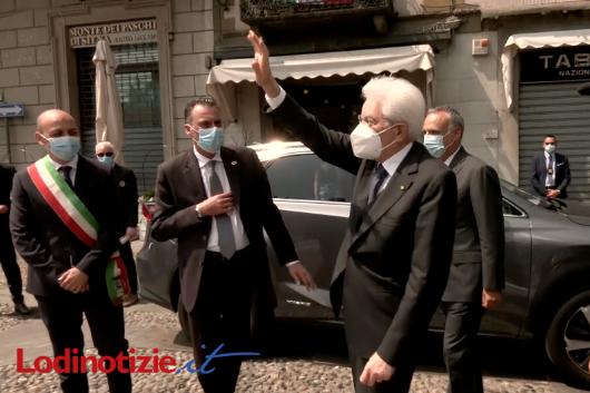 (VIDEO) Il discorso di Sergio Mattarella a Codogno