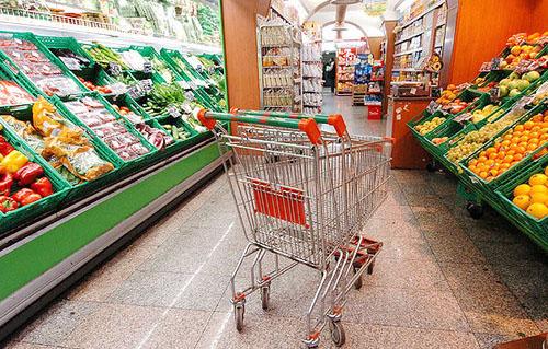 carrello supermercato grande distribuzione