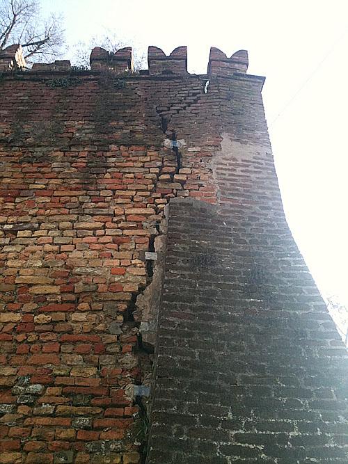 crepa mura