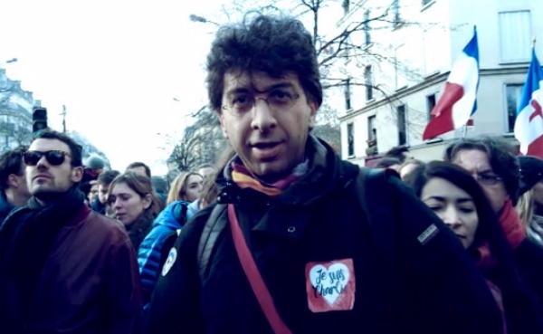 Andrea Ferrari a Parigi