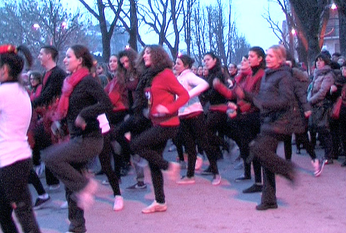 flash mob calicantus