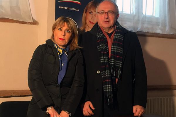 Paola Metalla con Stefano Buzzi