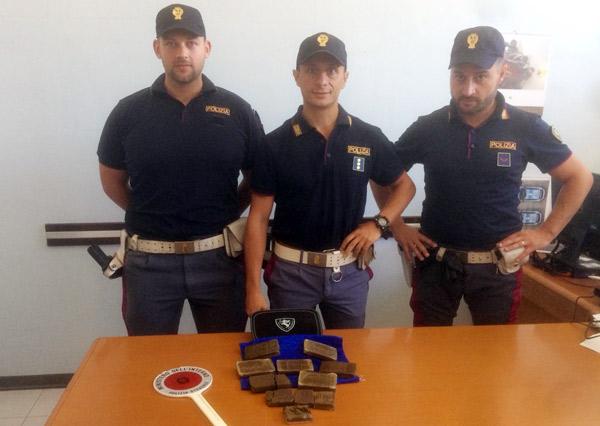 polizia-hashish