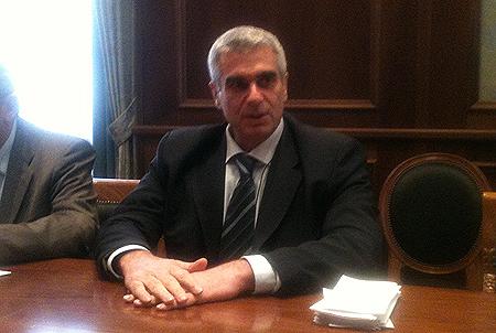 Il prefetto di Lodi, Antonio Corona