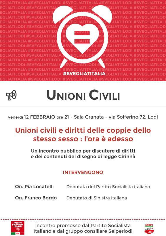unioni civili Lodi