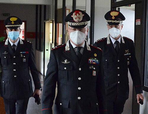 Generale di Brigata Taurelli Salimbeni in visita al Comando Provinciale di Lodi