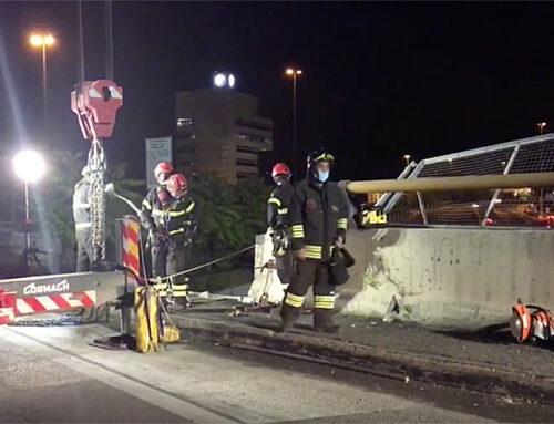 Precipita con l'auto dal cavalcavia, muore 48enne di Lodi Vecchio