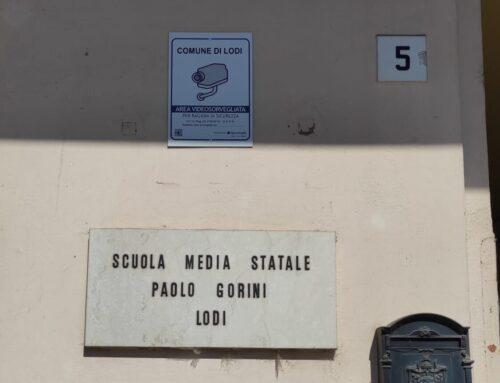 Lodi: 6 nuove telecamere per gli istituti Cazzulani e Ponte